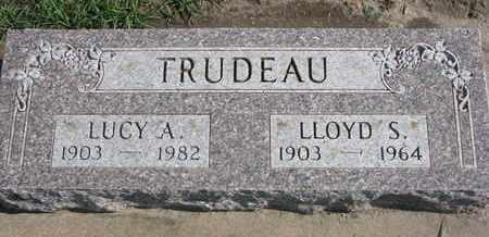 TRUDEAU, LUCY A. - Union County, South Dakota   LUCY A. TRUDEAU - South Dakota Gravestone Photos