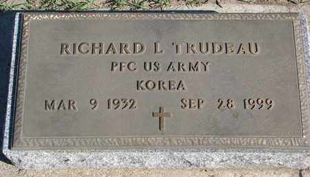 TRUDEAU, RICHARD L. - Union County, South Dakota   RICHARD L. TRUDEAU - South Dakota Gravestone Photos