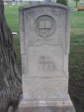 TUCKER, J.D. & WIFE - Union County, South Dakota | J.D. & WIFE TUCKER - South Dakota Gravestone Photos