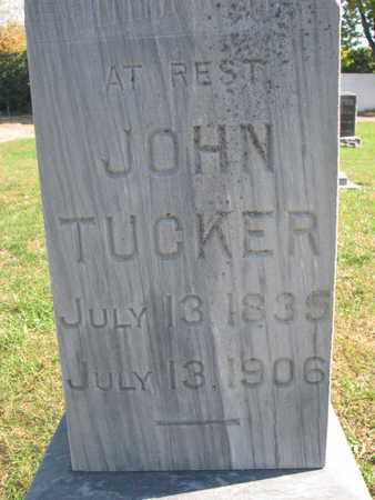 TUCKER, JOHN (CLOSEUP) - Union County, South Dakota | JOHN (CLOSEUP) TUCKER - South Dakota Gravestone Photos