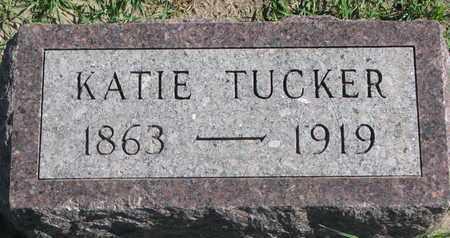 TUCKER, KATIE - Union County, South Dakota | KATIE TUCKER - South Dakota Gravestone Photos
