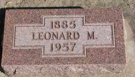 TWITCHELL, LEONARD M. - Union County, South Dakota | LEONARD M. TWITCHELL - South Dakota Gravestone Photos