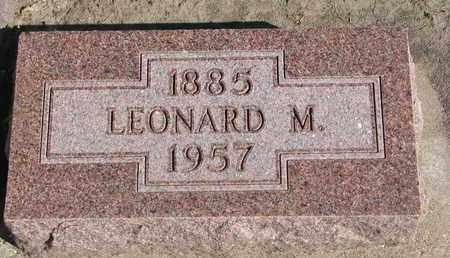 TWITCHELL, LEONARD M. - Union County, South Dakota | LEONARD M. TWITCHELL - South Dakota Gravestone Photos