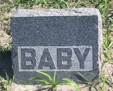 UNKNOWN, BABY - Union County, South Dakota | BABY UNKNOWN - South Dakota Gravestone Photos