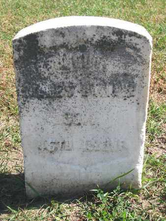 UNKNOWN, BR...... ? (MILITARY) - Union County, South Dakota | BR...... ? (MILITARY) UNKNOWN - South Dakota Gravestone Photos