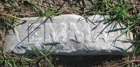 UNKNOWN, EMMA - Union County, South Dakota | EMMA UNKNOWN - South Dakota Gravestone Photos