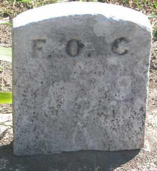 UNKNOWN, F.O.C. - Union County, South Dakota | F.O.C. UNKNOWN - South Dakota Gravestone Photos