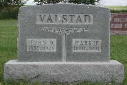 VALSTAD, CARRIE - Union County, South Dakota | CARRIE VALSTAD - South Dakota Gravestone Photos