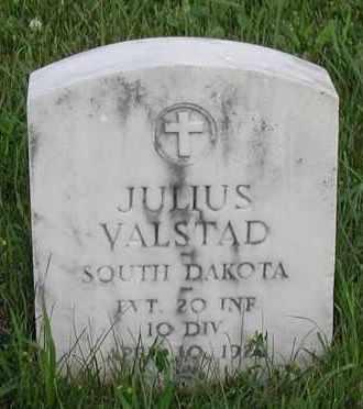 VALSTAD, JULIUS (WWI) - Union County, South Dakota   JULIUS (WWI) VALSTAD - South Dakota Gravestone Photos
