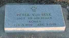 VAN BEEK, PETER - Union County, South Dakota   PETER VAN BEEK - South Dakota Gravestone Photos