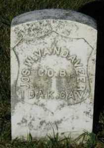 VAN DAVEER, JOSEPH W. - Union County, South Dakota | JOSEPH W. VAN DAVEER - South Dakota Gravestone Photos