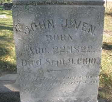 VEN, JOHN J. (CLOSEUP) - Union County, South Dakota | JOHN J. (CLOSEUP) VEN - South Dakota Gravestone Photos
