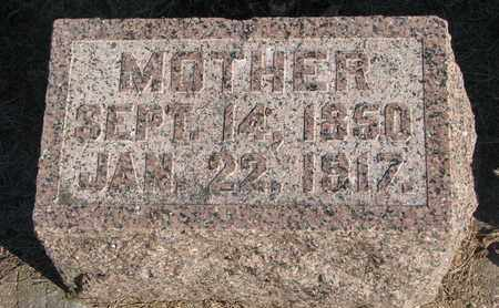 VINDAHL, MOTHER - Union County, South Dakota | MOTHER VINDAHL - South Dakota Gravestone Photos