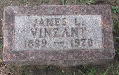 VINZANT, JAMES I. - Union County, South Dakota | JAMES I. VINZANT - South Dakota Gravestone Photos