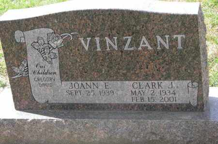 VINZANT, JOANN E. - Union County, South Dakota | JOANN E. VINZANT - South Dakota Gravestone Photos