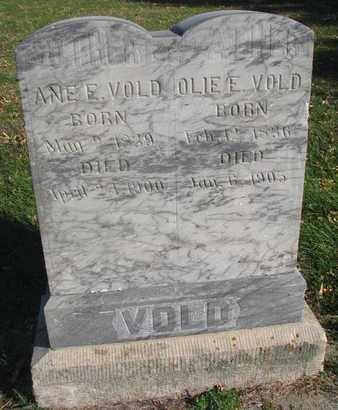VOLD, ANE E. - Union County, South Dakota | ANE E. VOLD - South Dakota Gravestone Photos