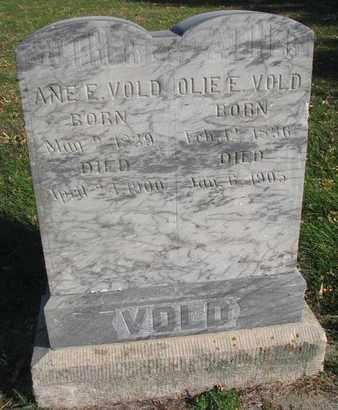 VOLD, ANE E. - Union County, South Dakota | ANE E. VOLD - South Dakota Gravestone Photos