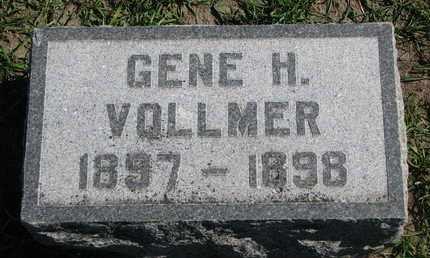 VOLLMER, GENE H. - Union County, South Dakota | GENE H. VOLLMER - South Dakota Gravestone Photos