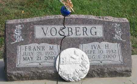 VOSBERG, IVA H. - Union County, South Dakota | IVA H. VOSBERG - South Dakota Gravestone Photos