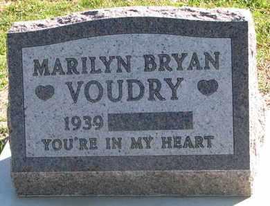 VOUDRY, MARILYN - Union County, South Dakota | MARILYN VOUDRY - South Dakota Gravestone Photos