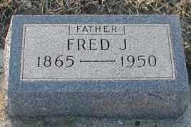 WAAG, FRED J - Union County, South Dakota | FRED J WAAG - South Dakota Gravestone Photos