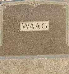 WAAG, PLOT - Union County, South Dakota | PLOT WAAG - South Dakota Gravestone Photos