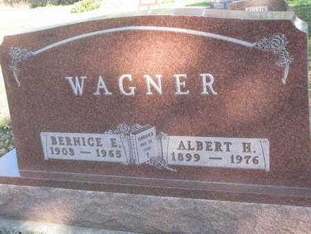WAGNER, ALBERT H. - Union County, South Dakota | ALBERT H. WAGNER - South Dakota Gravestone Photos