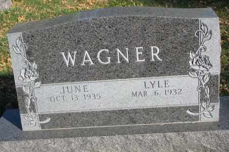 WAGNER, JUNE - Union County, South Dakota | JUNE WAGNER - South Dakota Gravestone Photos