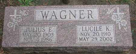 WAGNER, LUCILE K. - Union County, South Dakota | LUCILE K. WAGNER - South Dakota Gravestone Photos