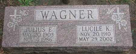 WAGNER, JULIUS E. - Union County, South Dakota | JULIUS E. WAGNER - South Dakota Gravestone Photos