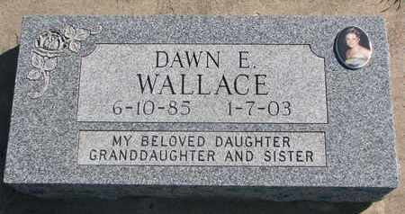 WALLACE, DAWN E. - Union County, South Dakota | DAWN E. WALLACE - South Dakota Gravestone Photos
