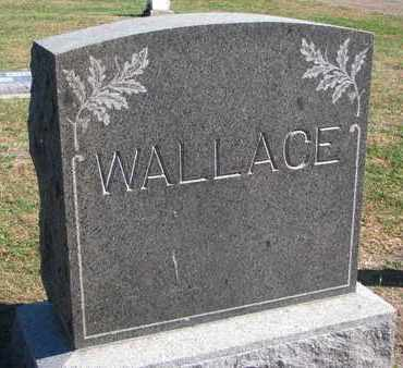 WALLACE, FAMILY STONE - Union County, South Dakota | FAMILY STONE WALLACE - South Dakota Gravestone Photos