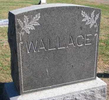 WALLACE, FAMILY STONE - Union County, South Dakota   FAMILY STONE WALLACE - South Dakota Gravestone Photos