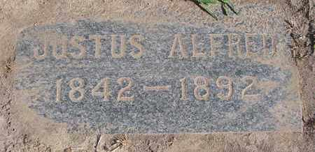 WALLACE, JUSTUS ALFRED - Union County, South Dakota | JUSTUS ALFRED WALLACE - South Dakota Gravestone Photos