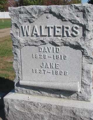 WALTERS, JANE - Union County, South Dakota   JANE WALTERS - South Dakota Gravestone Photos