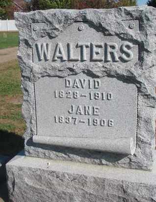 WALTERS, JANE - Union County, South Dakota | JANE WALTERS - South Dakota Gravestone Photos