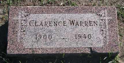 WARREN, CLARENCE - Union County, South Dakota | CLARENCE WARREN - South Dakota Gravestone Photos