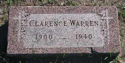 WARREN, CLARENCE - Union County, South Dakota | CLARENCE WARREN - South Dakota Gravestone Photos