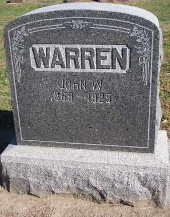 WARREN, JOHN W. - Union County, South Dakota | JOHN W. WARREN - South Dakota Gravestone Photos
