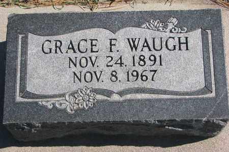 WAUGH, GRACE F. - Union County, South Dakota | GRACE F. WAUGH - South Dakota Gravestone Photos