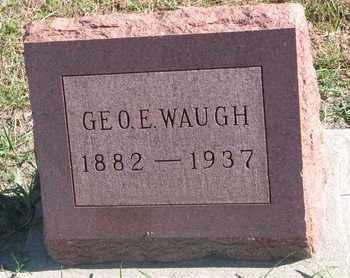WAUGH, GEORGE E. - Union County, South Dakota | GEORGE E. WAUGH - South Dakota Gravestone Photos