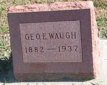 WAUGH, GEORGE E. - Union County, South Dakota | GEORGE E. WAUGH - South Dakota Gravestone Photos