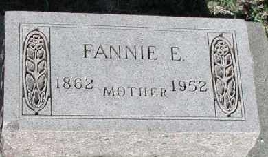 WEBBER, FANNIE E. - Union County, South Dakota | FANNIE E. WEBBER - South Dakota Gravestone Photos