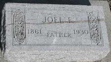 WEBBER, JOEL F. - Union County, South Dakota   JOEL F. WEBBER - South Dakota Gravestone Photos