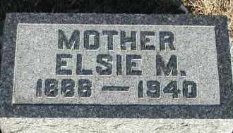 WELCH, ELSIE M - Union County, South Dakota | ELSIE M WELCH - South Dakota Gravestone Photos