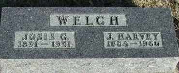 WELCH, JOSIE G. - Union County, South Dakota | JOSIE G. WELCH - South Dakota Gravestone Photos