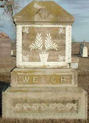 WELCH, PLOT - Union County, South Dakota | PLOT WELCH - South Dakota Gravestone Photos