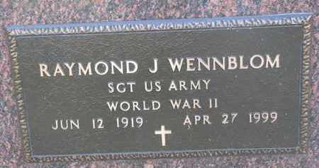 WENNBLOM, RAYMOND J. (WW II) - Union County, South Dakota | RAYMOND J. (WW II) WENNBLOM - South Dakota Gravestone Photos