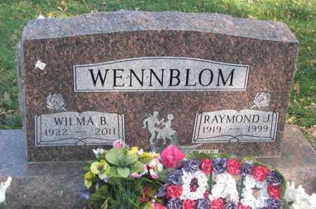 WENNBLOM, RAYMOND JULEN - Union County, South Dakota | RAYMOND JULEN WENNBLOM - South Dakota Gravestone Photos