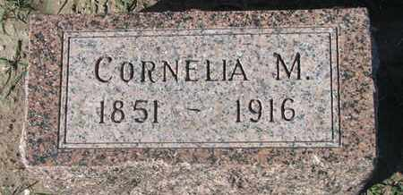WESTON, CORNELIA M. - Union County, South Dakota | CORNELIA M. WESTON - South Dakota Gravestone Photos